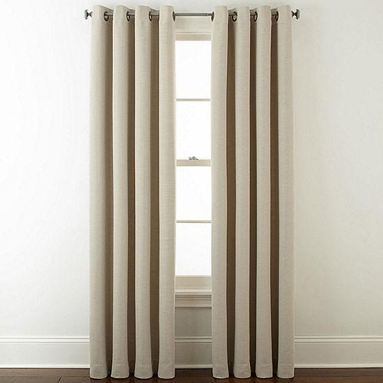 Guest Bedroom Studio Wallace Blackout Grommet Top Curtain Panel