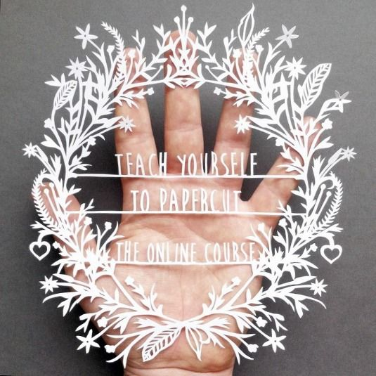 Teach yourself the art of paper cutting with this e-course | More ...