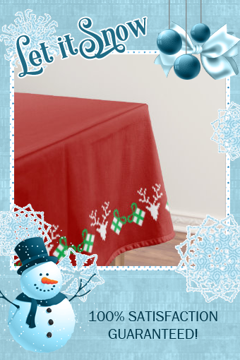 #ad Christmas Wreath Deers And Gifts Tablecloth #uglysweaterchristmas #Tablecloth #affiliatelink #christmasparty #uglysweater #christmassweater #holidayparty #holidaypartyideas #uglychristmassweater #ugly #sweater
