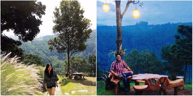 36 Restoran Dan Cafe Di Bandung Dengan Pemandangan Yang Indah Asri Dan Memesona Di 2020 Pemandangan Alam Restoran