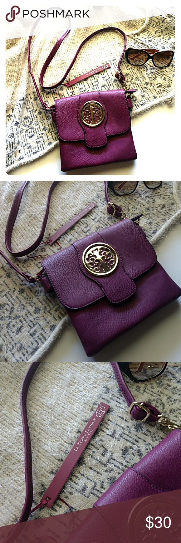 Resembles A Tory Burch Handbag But It S Not Long Adjule Strap La Terre Fashion New York Bags Crossbody