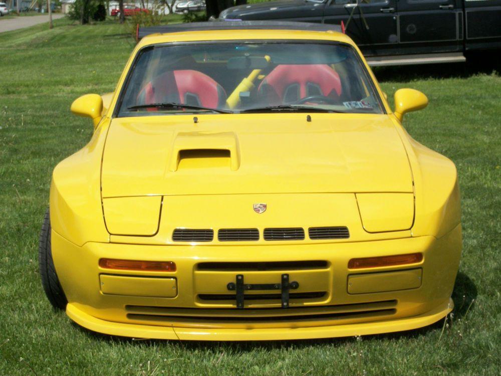 Porsche 944 Turbo and S2 Fiberglass Front Spoiler, Splitter in
