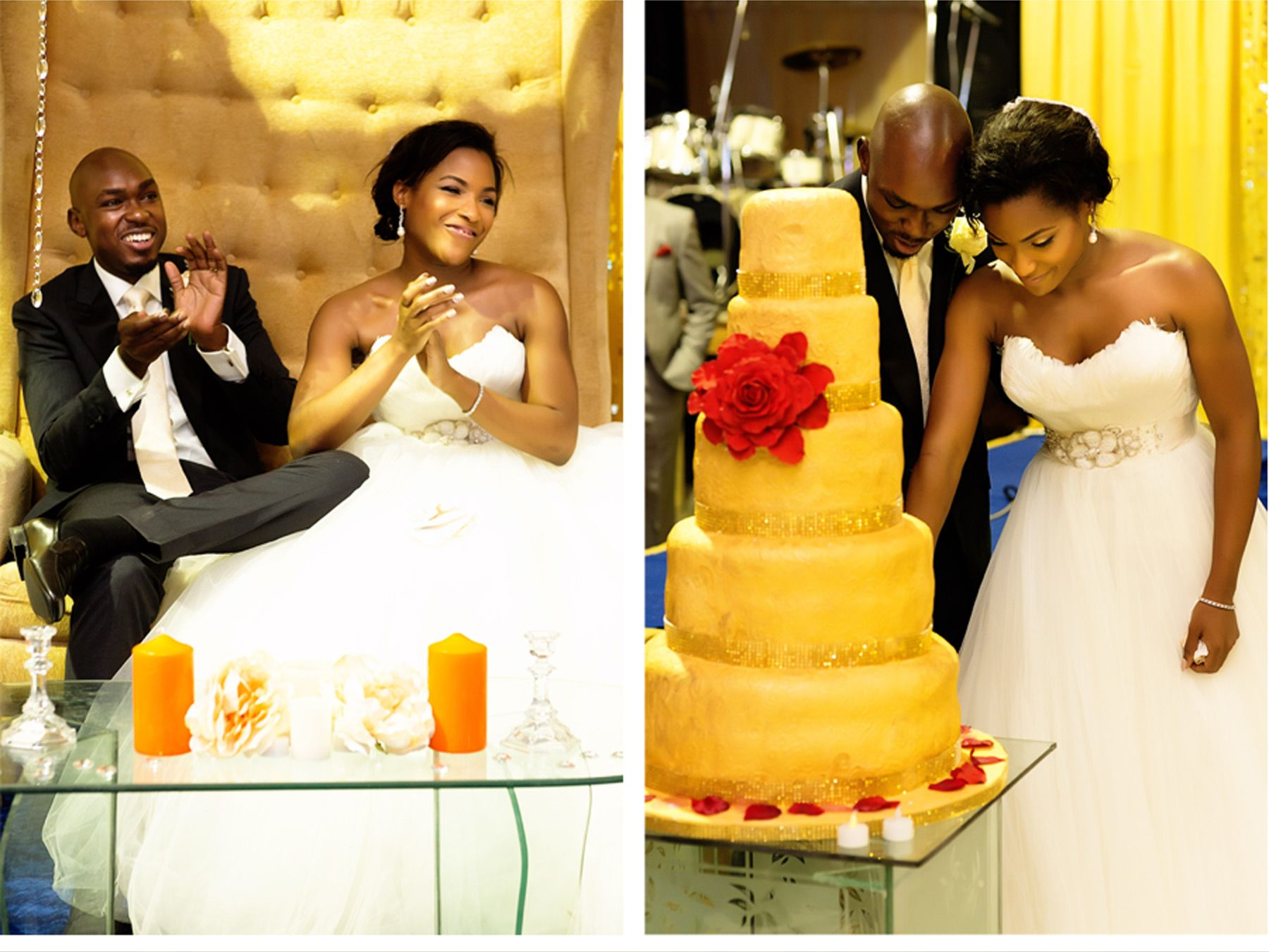Bright Nigerian Wedding