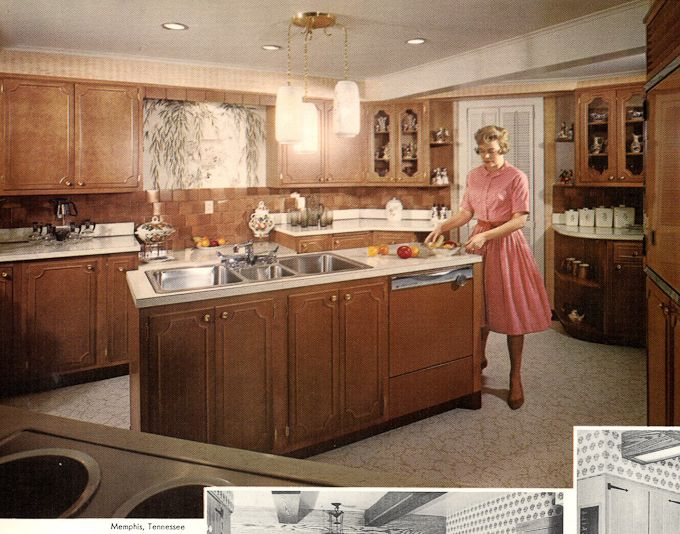 Wood Mode Kitchens From 1961    Slide Show Of 15 Photos   Retro Renovation