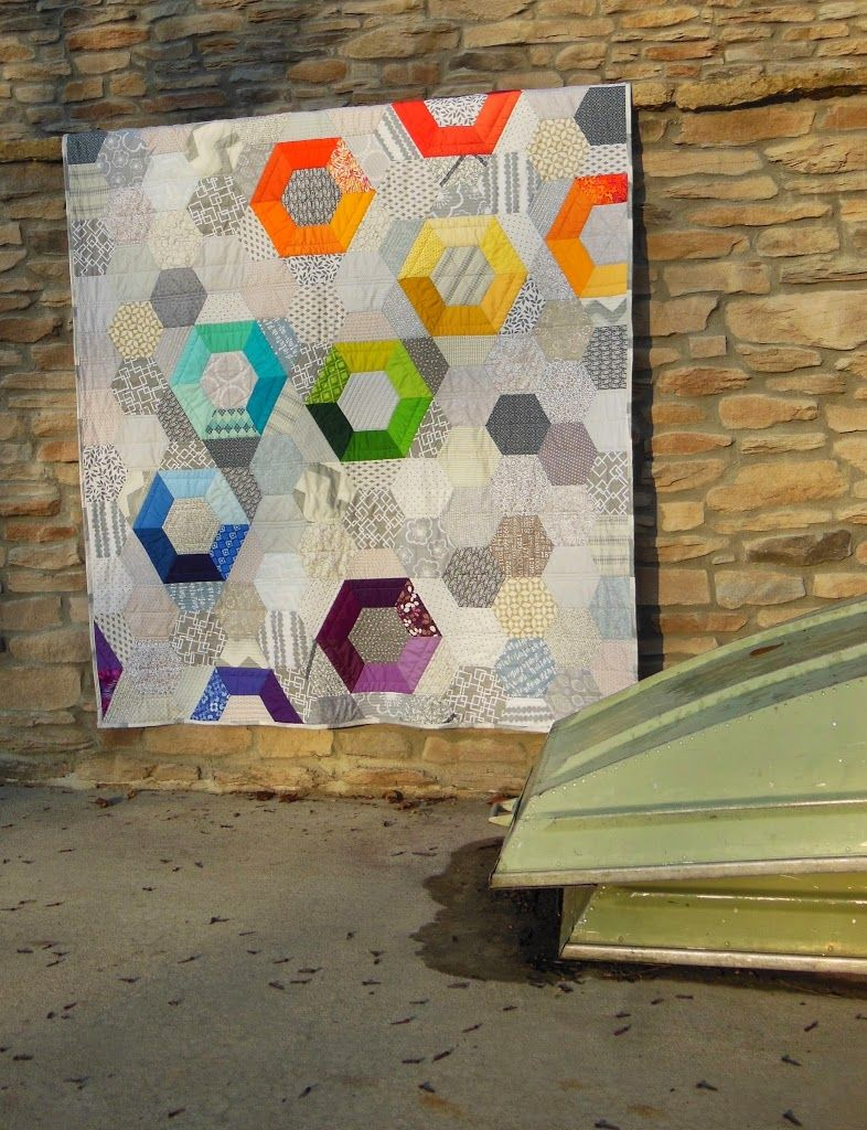 Modern Patchwork - Color Girl Quilts by Sharon McConnell - This ... : modern patchwork quilt designs - Adamdwight.com