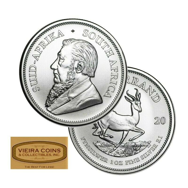 2020 South Africa Silver Krugerrand 1 Oz Pure Silver 1 Rand Bu 18307 Ebay In 2020 Silver Krugerrand Pure Silver Fine Silver