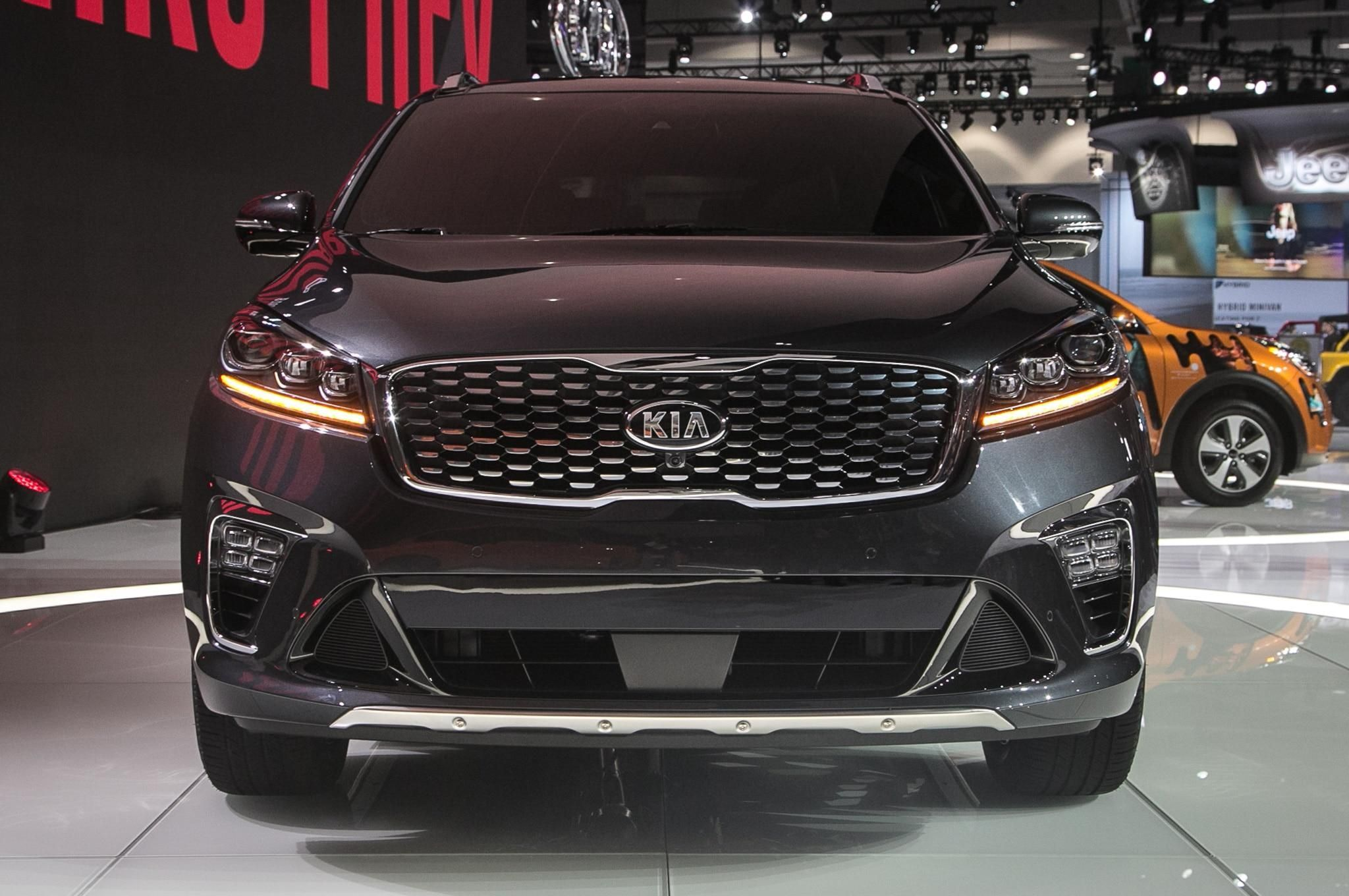 2019 Kia Sorento Gets An Updated Powertrain Lineup Automobile In
