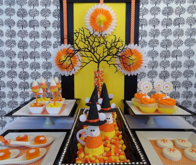 Halloween Party Ideas Decoracion de eventos, Mesa de dulces y Mesas