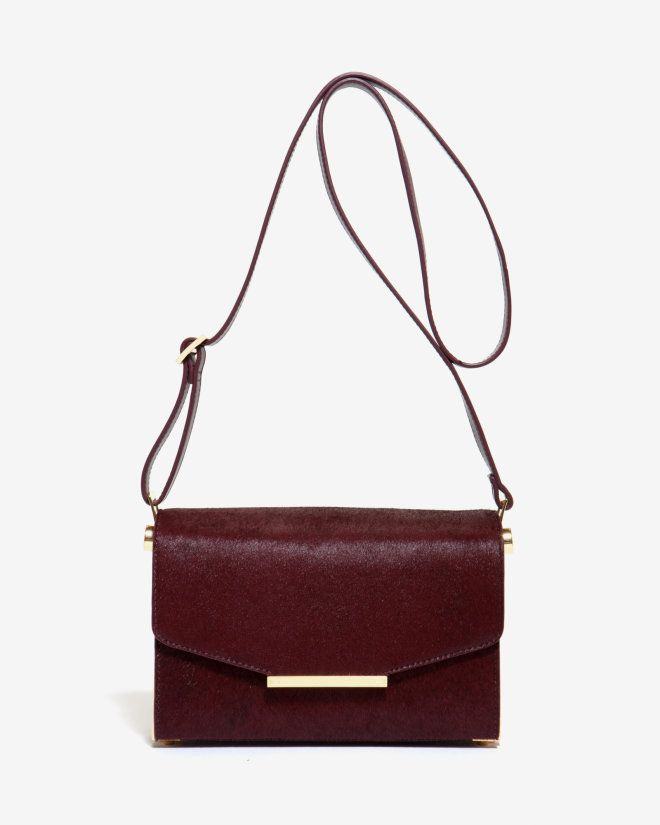 4bb29e10722 Textured leather cross body bag - Oxblood | Bags | Ted Baker ...