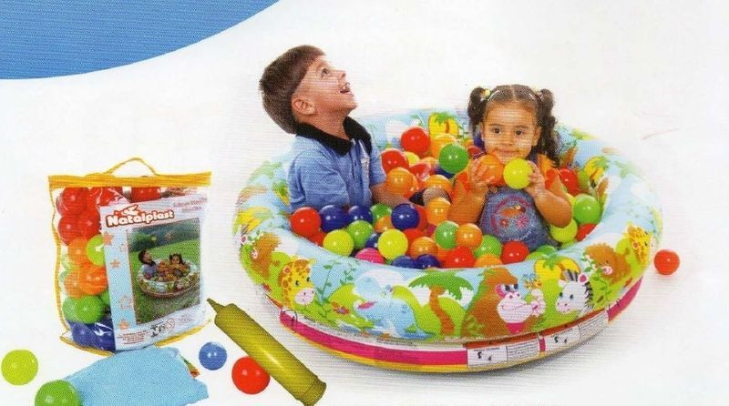 PISCINA DE BOLINHA DECORADA - art compra brinquedos