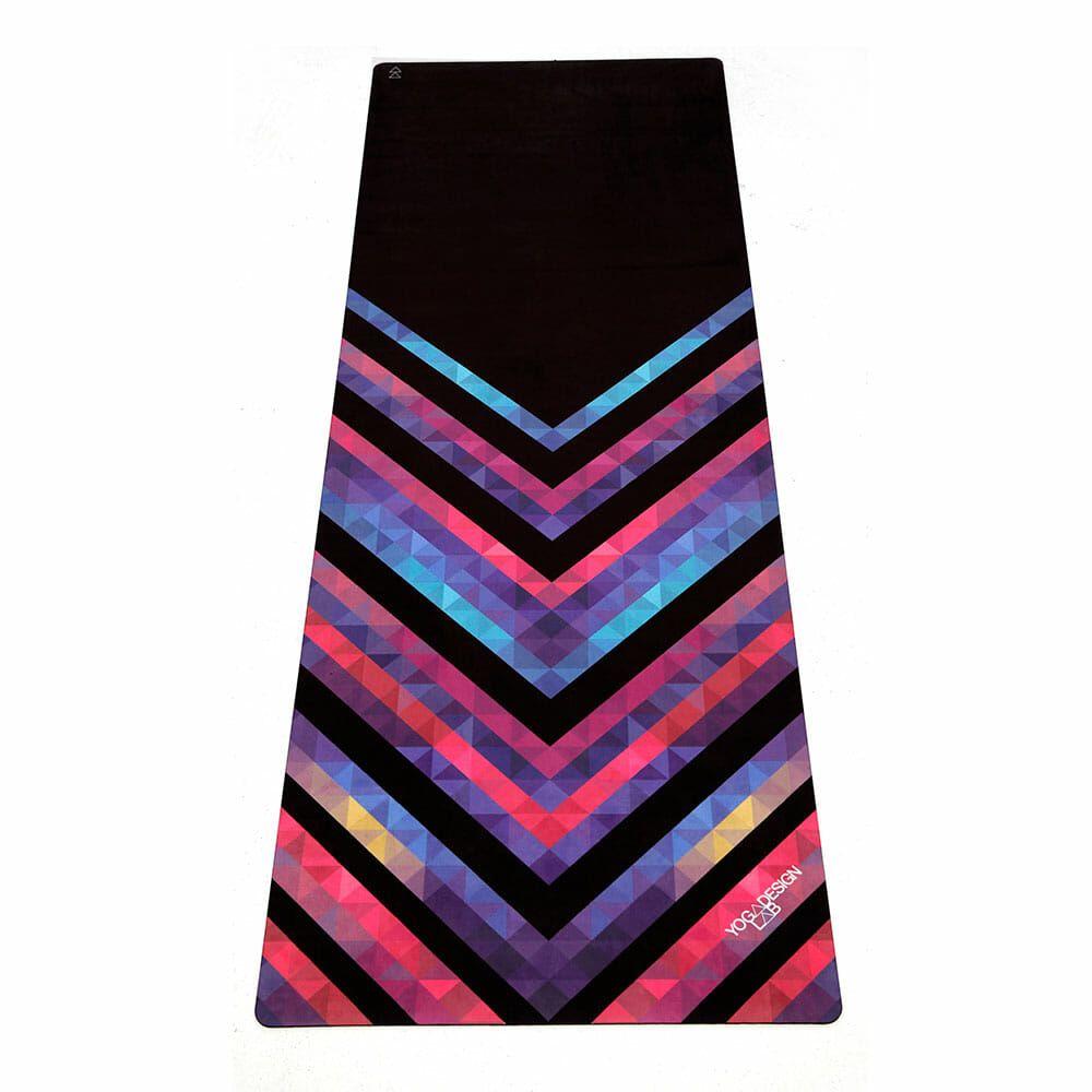 Esterilla Combo 3 5mm Chevron Maya Es Yoga Design Lab Hot Yoga Mat Towel Towels Design