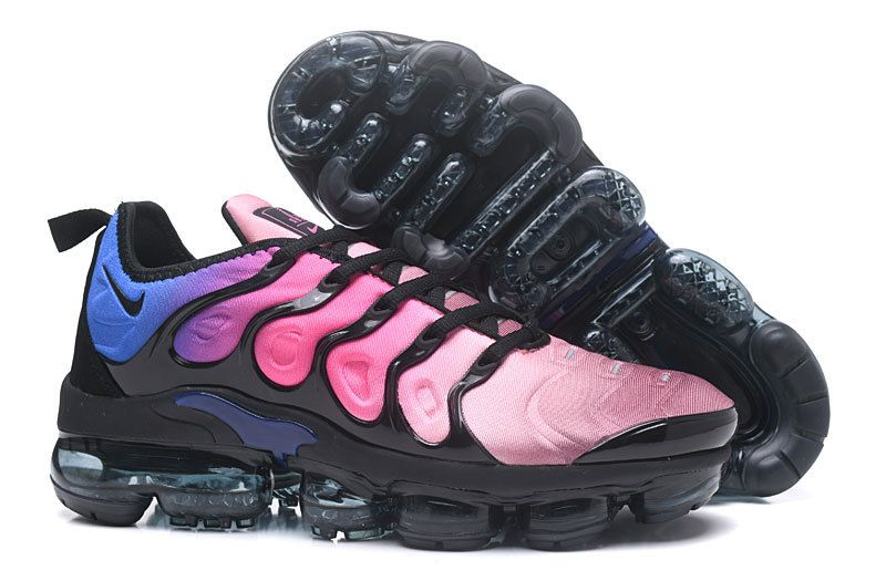 918dd2ff8d8 Genuine Men Nike Air VaporMax Plus 2018 TN Purple Sky Blue Black ...