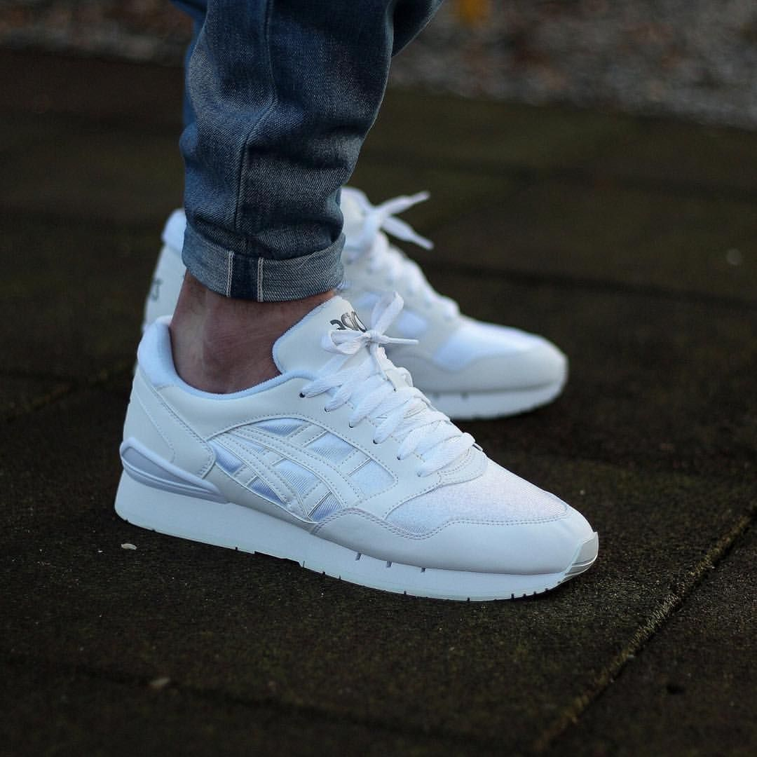 Asics Gallery / News sur Instagram : Asics Gel-Atlantis White