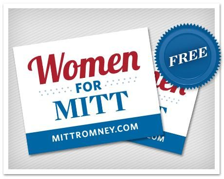This man would do much more harm than good toward females if elected. They can take these stickers and shove it up their ass. Romney is not for females but against us..