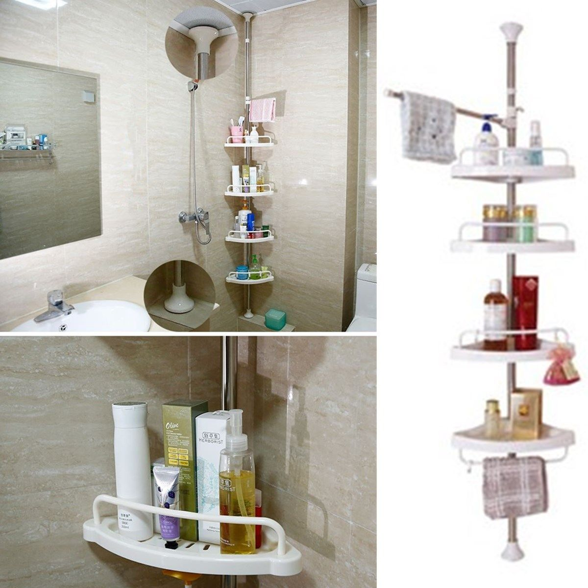 Amazing Corner Shower Shelves Hall Bedding Sprinklers Kitchen Backsplash Style Expansive