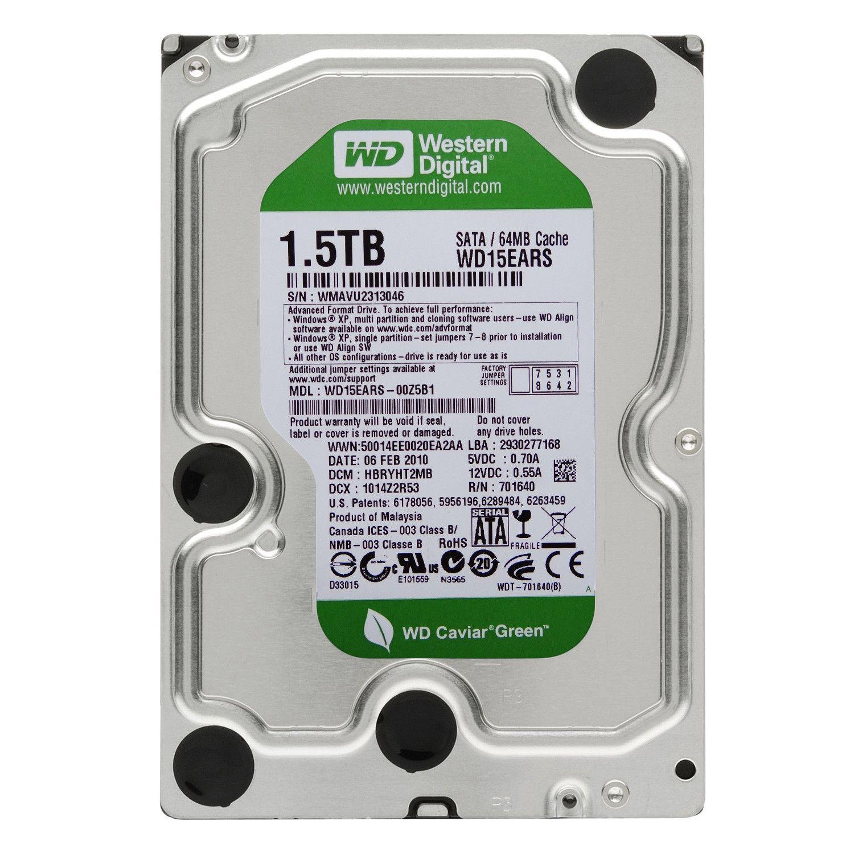Western Digital Green 1 5TB - WD15EARS – Refurbished Supply