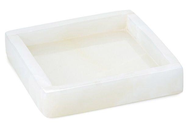 3x3 Cream Onyx Coaster on OneKingsLane.com