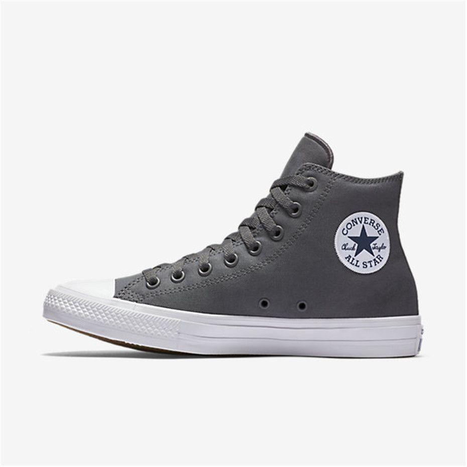 Explorez Chaussures Converse Pas Chères et plus encore ! NIKE Converse  Chuck Taylor All Star II High Top (Charcoal)