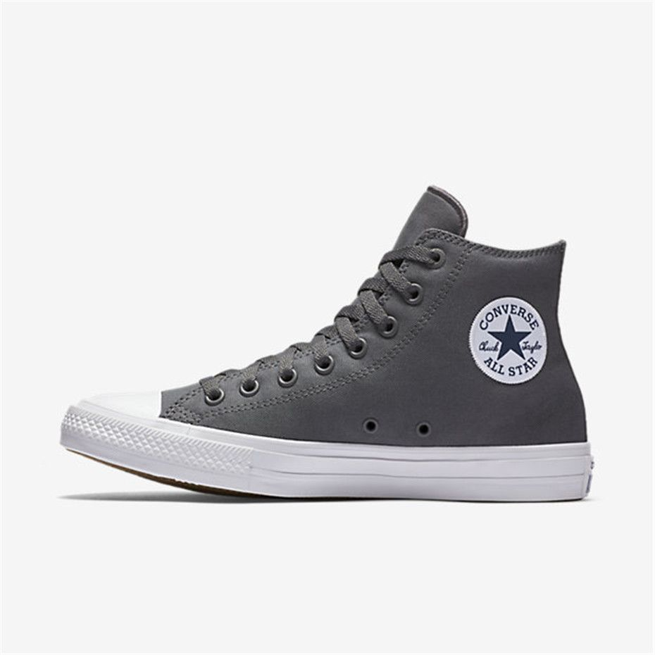 11aaab3a3100 NIKE Converse Chuck Taylor All Star II High Top (Charcoal)
