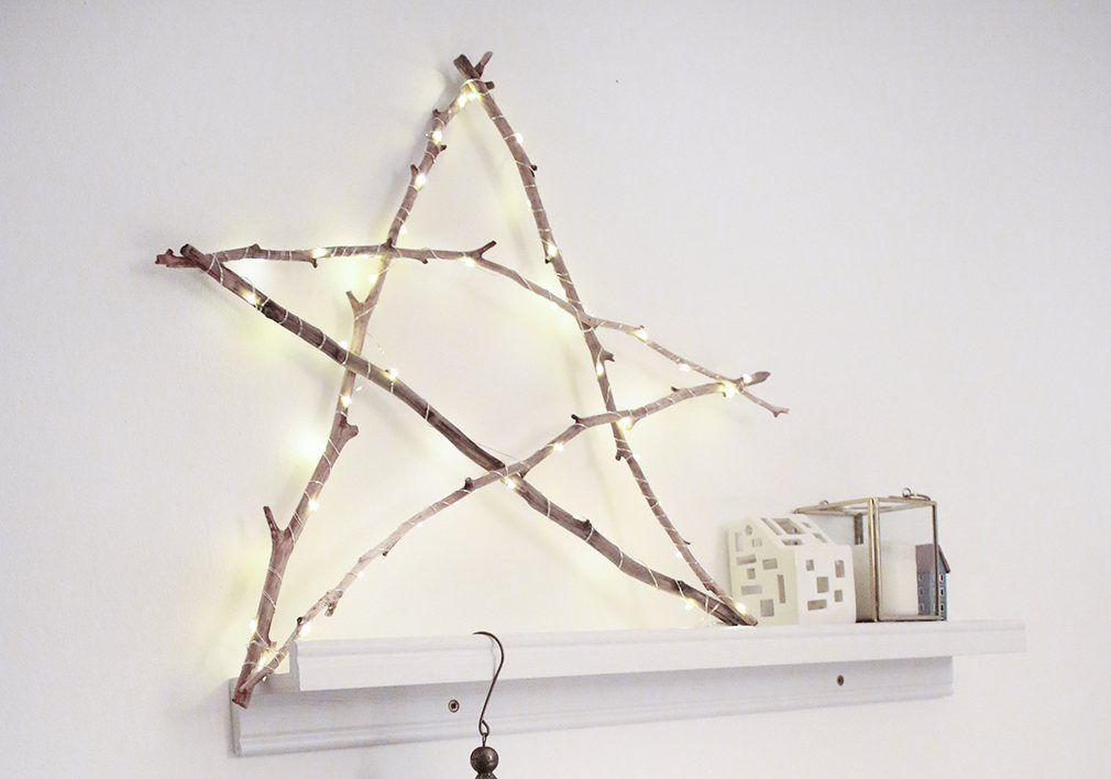 Stern Aus ästen : weihnachtsstern aus sten weihnachtsstern dekoration und selber basteln ~ Yuntae.com Dekorationen Ideen