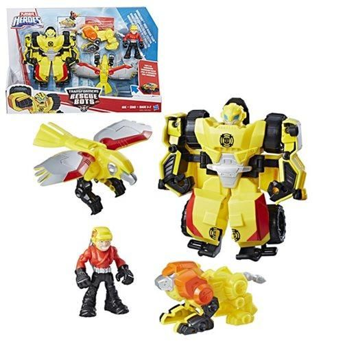 "4/"" Eagle Robot Action Figure Transformers Kids Toys"