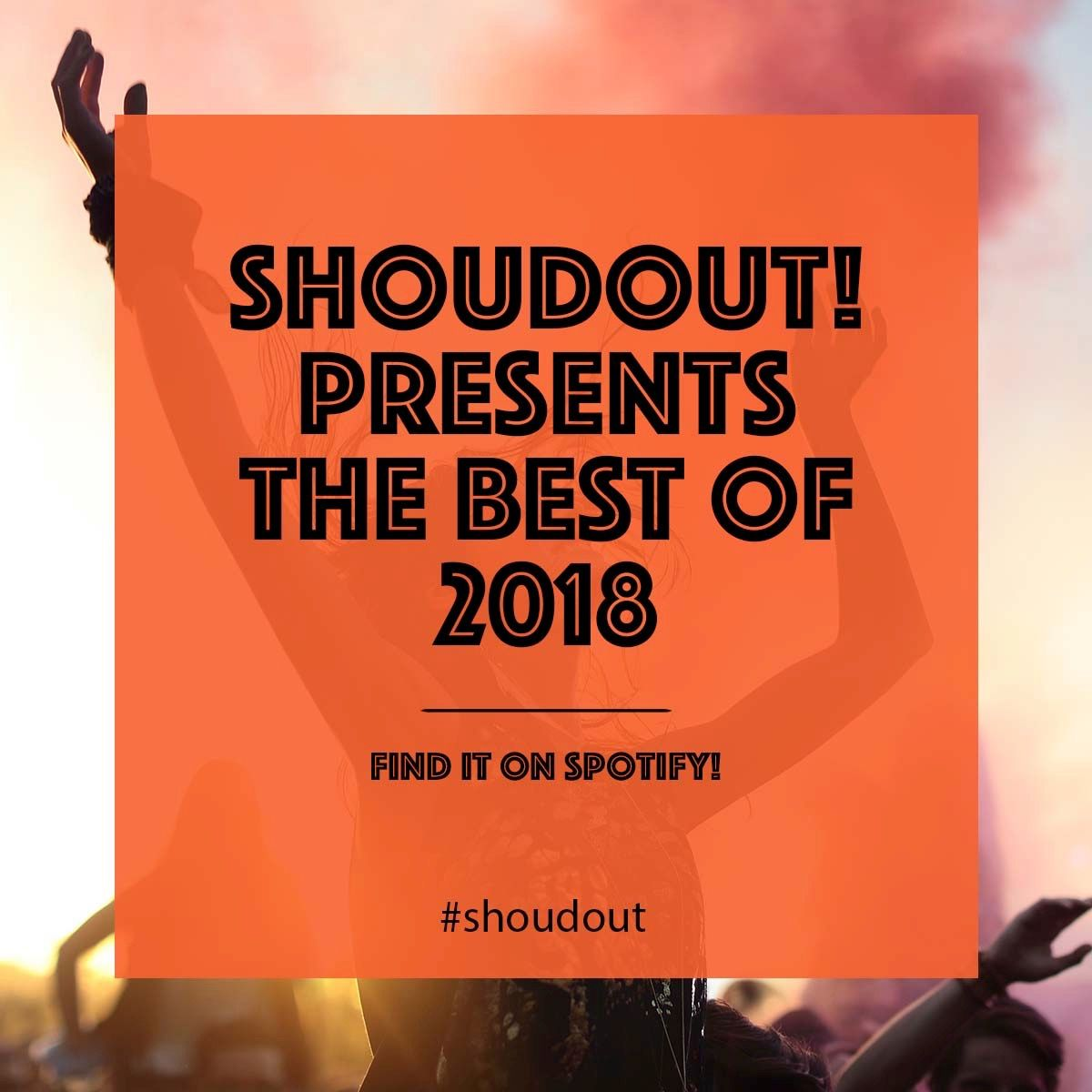 GUESS WHAT?! Shoudout now has its own playlist on Spotify