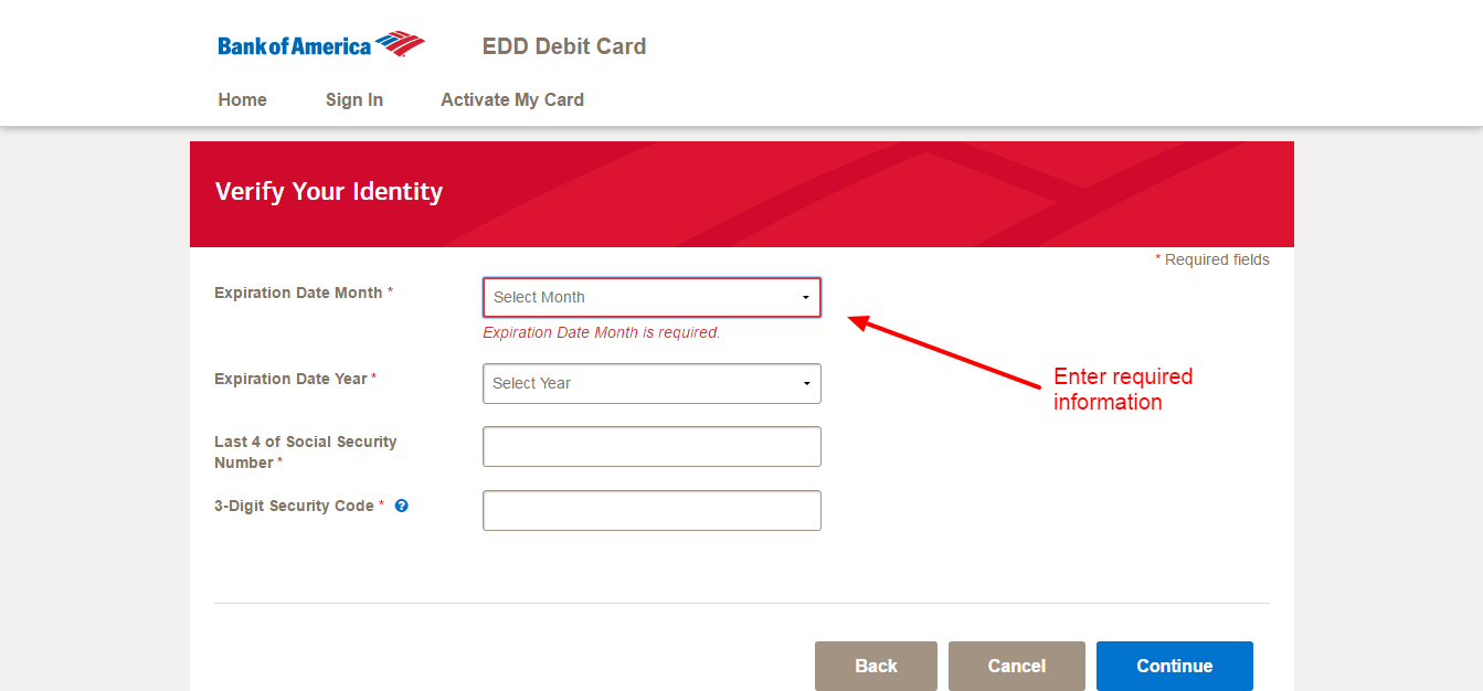 where to see my account number bank of america