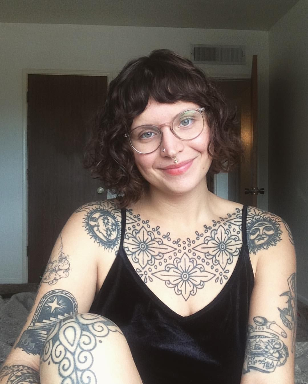 IAN LUTZ (With images) Full chest tattoos, Tattoed girls