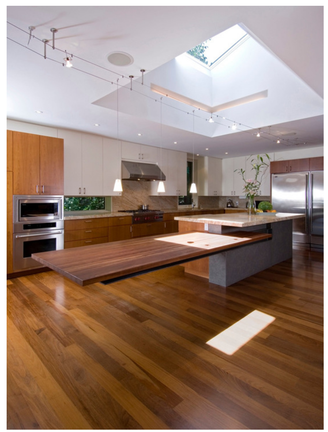 Dining Table Attached To Kitchen Island Interior Design Custom Kitchen Island Kitchen Island Design Kitchen Island Table