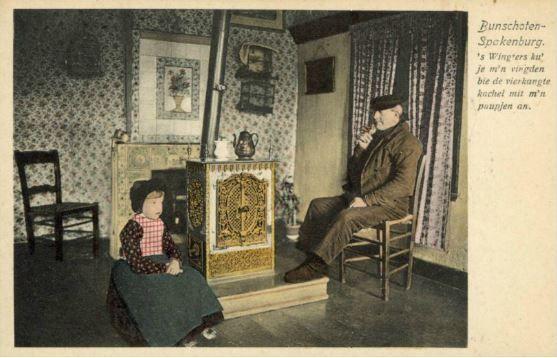 Interieur van een huis te spakenburg gemeente bunschoten for Interieur 1920