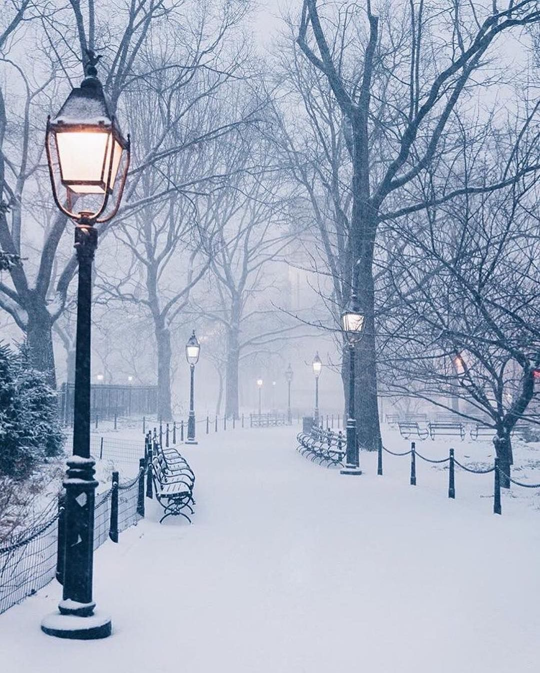 New York City Is A City Of Endless Inspiration Get Inspired At Mydesignagenda Com Winter Scenery Winter Pictures Winter Landscape