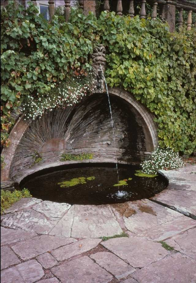 wasserbrunnen installieren garten-gestalten mit wasser-ideen, Garten und erstellen