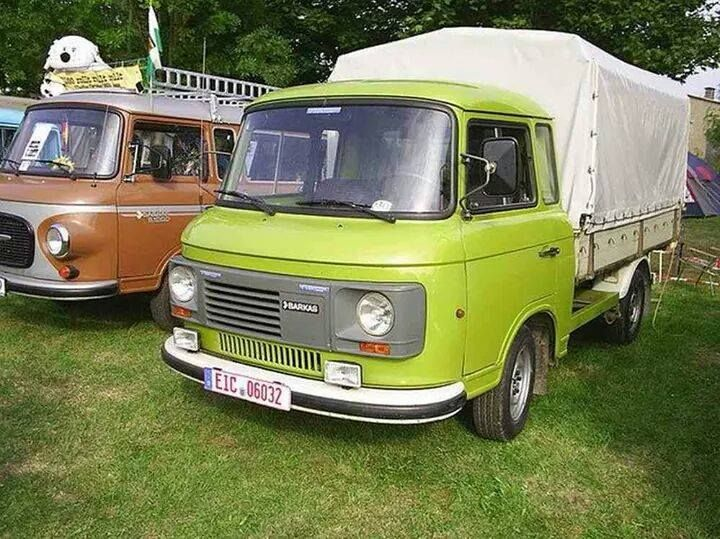 barkas b1001 mit viertaktmotor vom wartburg 1 3 cars. Black Bedroom Furniture Sets. Home Design Ideas