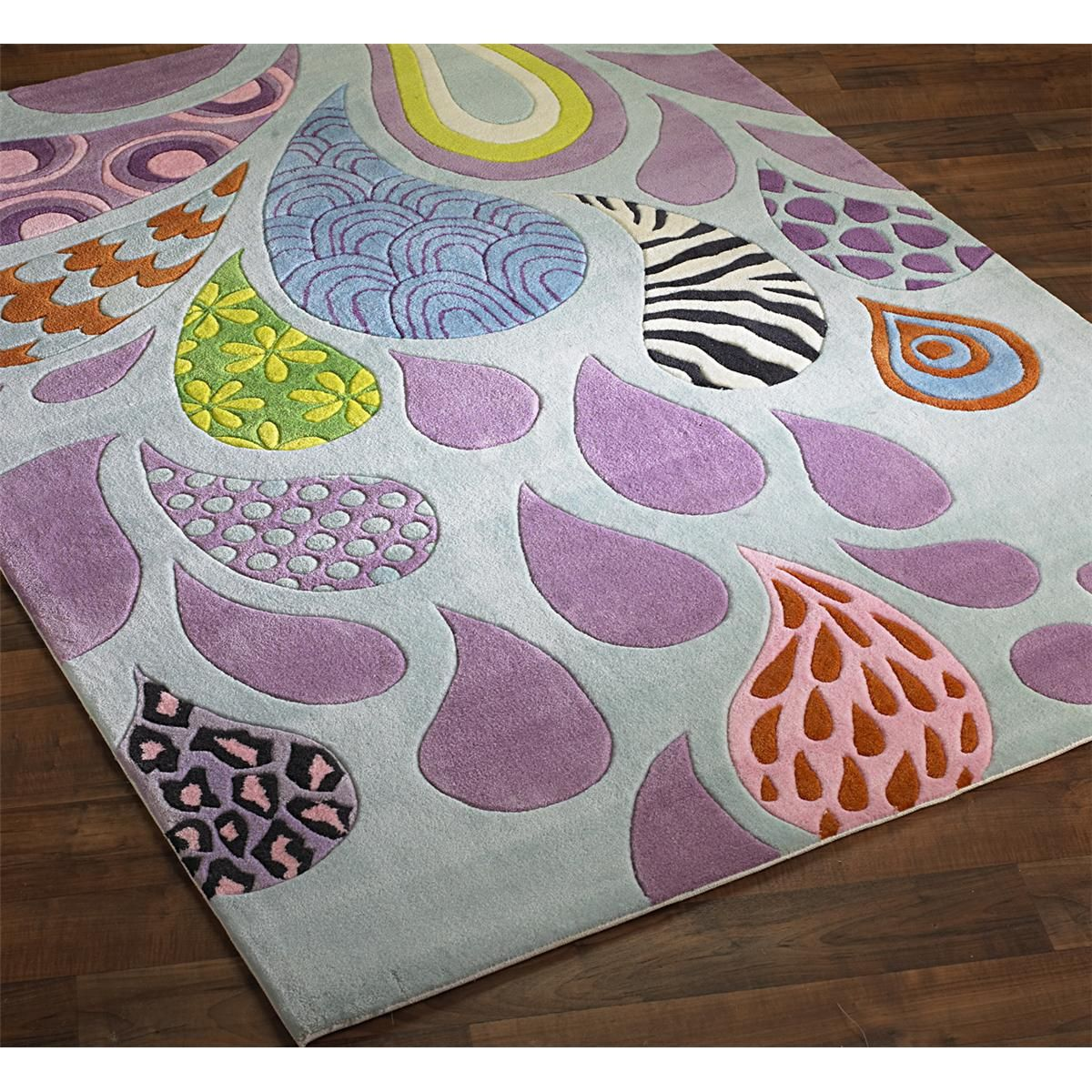Girly Rugs For Bedroom: Teen Girl Hipster Rug Fun For Teens, This Whimsical