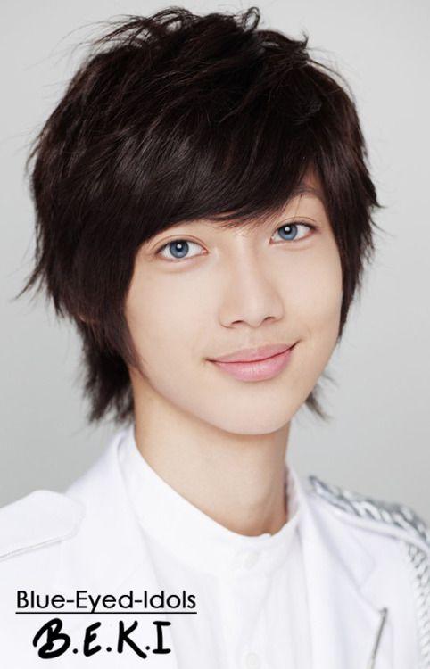 Blue Eyed K Pop Idols 212 Jo Kwangmin Boyfriend Boyfriend Kpop Boyfriend Photos Boyfriend Pictures