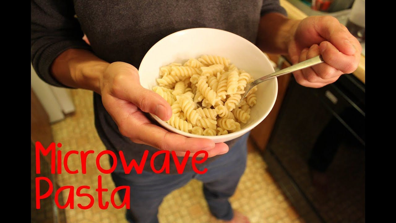 Basic microwave pasta microwave pasta quick healthy