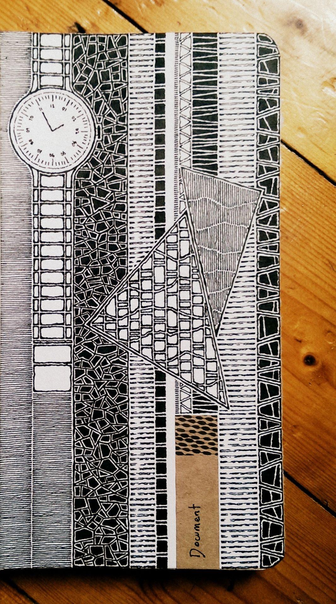 Moleskine 03, #083 | Pattern | Pinterest | Zentangle muster ...
