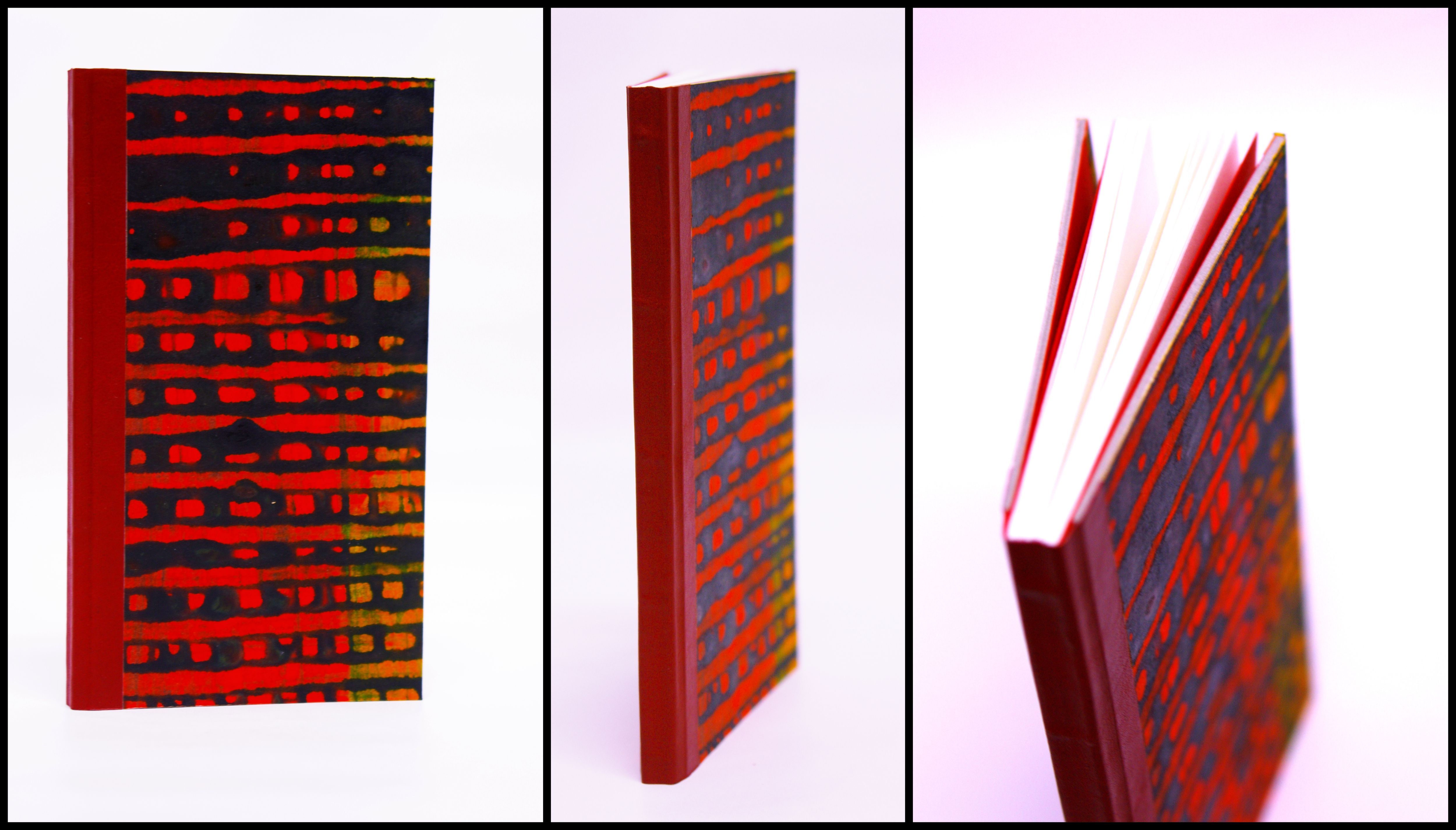 Notebook designed and handmade by Jaanika Aadamsoo