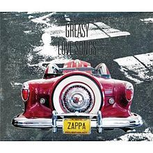 Frank Zappa Greasy Love Songs Album