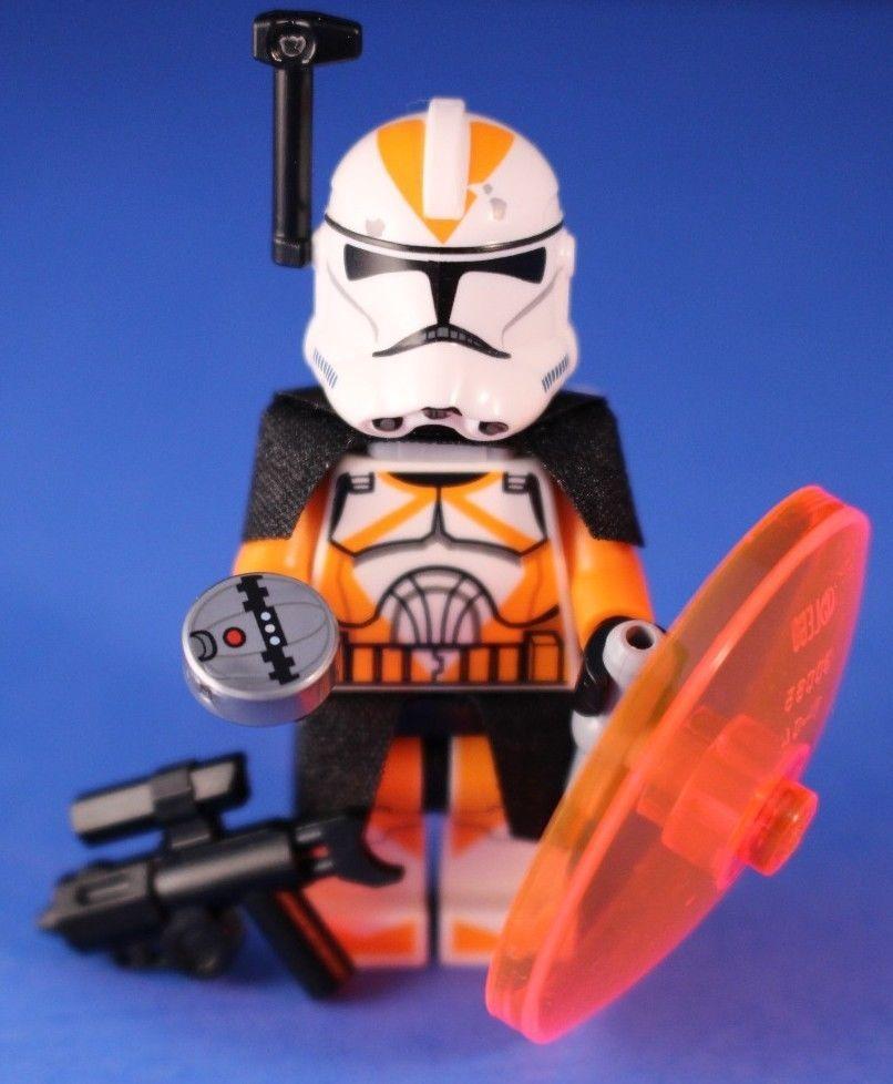 Lego CLONE COMMANDER Visor /& Antenna LOT Star Wars Minifigure Accessories NEW