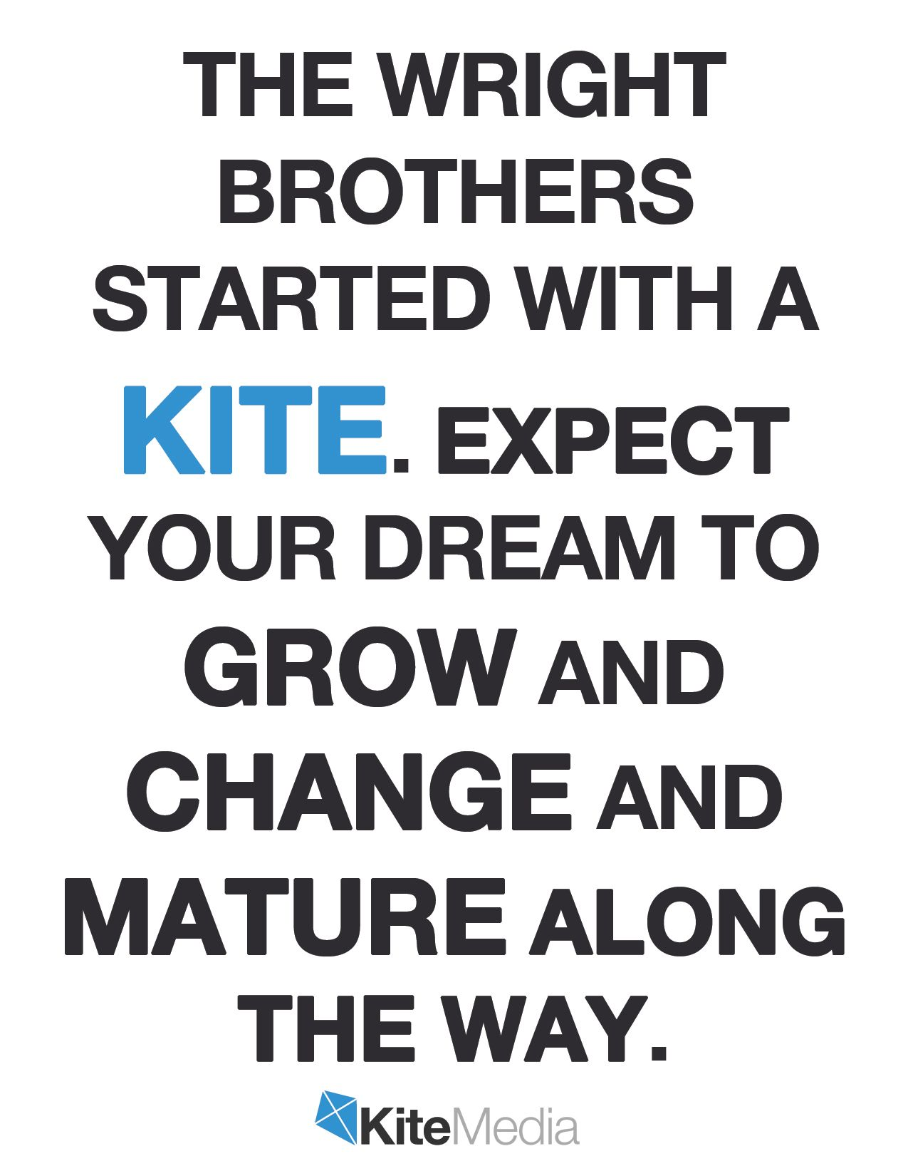 The Wright Brothers Quotes The Wright Brothers Started With A Kite Quotes  Pinterest .