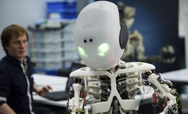 Ia Es La Sigla De Inteligencia Artificial Artificial Intelligence Technology Robot Futuristic Technology
