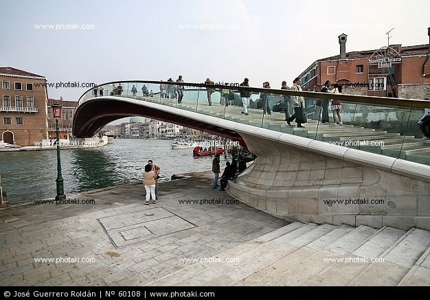 calatrava bridge venice photos - photo#38
