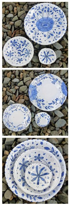 55 Hand Painted Plates Ideas