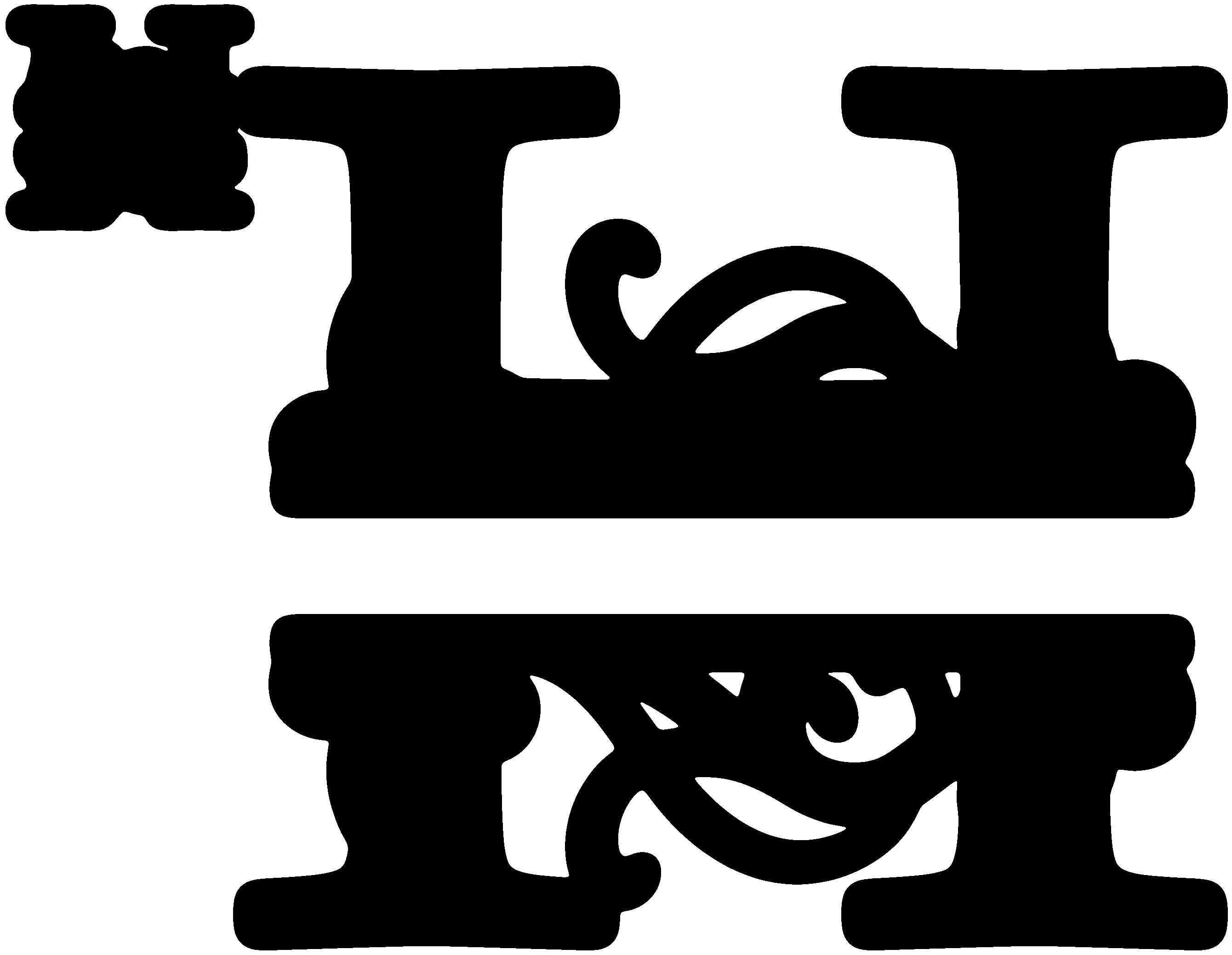 See the source image Cricut monogram, H monogram