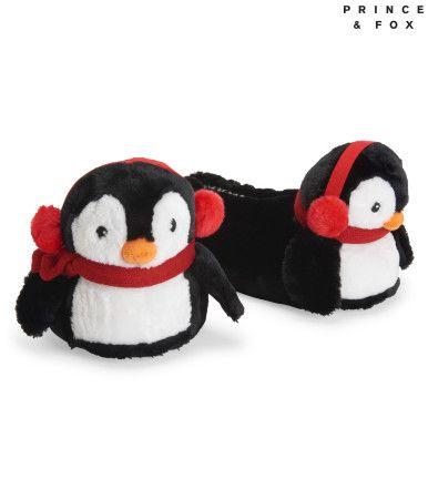 34de0ca2e54507 Prince   Fox Penguin Slipper - Aeropostale