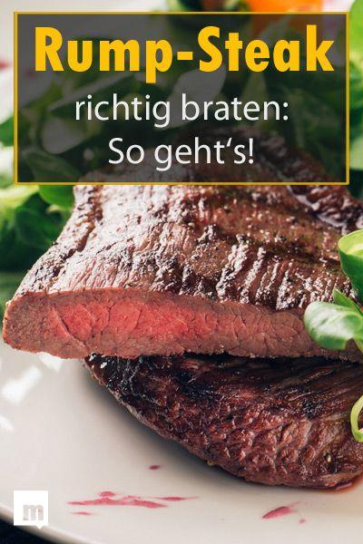 Rump-Steak richtig braten – So geht's. #männersache #steak #rumpsteak #braten #tipps #grilledporksteaks