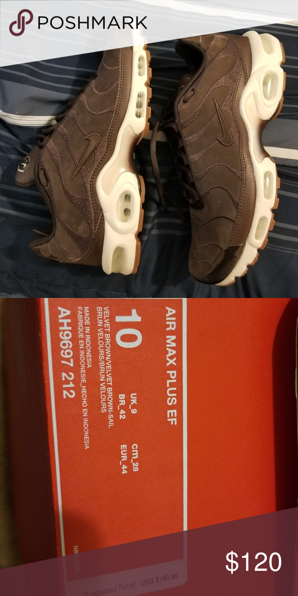 Nike Air max plus ef Suede, Comfortable