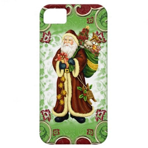 Christmas Santa iPhone5 case mate barely there iPhone 5 Cases