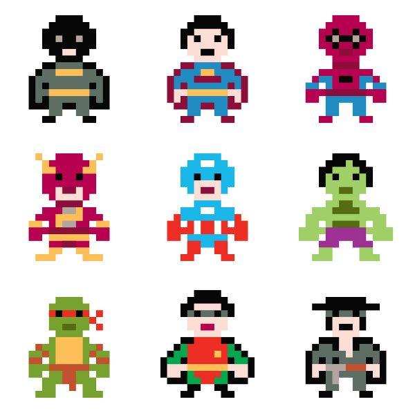 My Sweet Muffin - Pixel Heroes Sticker Book